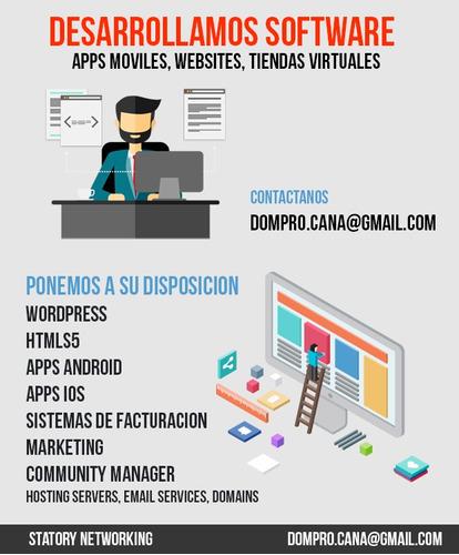 diseño de pagina web + hosting + dominio
