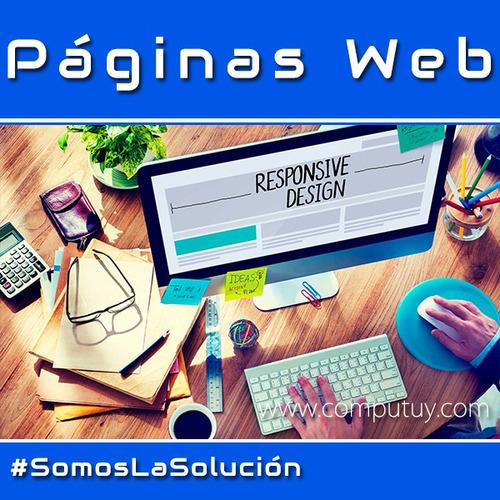 diseño de página web logo profesional tienda virtual