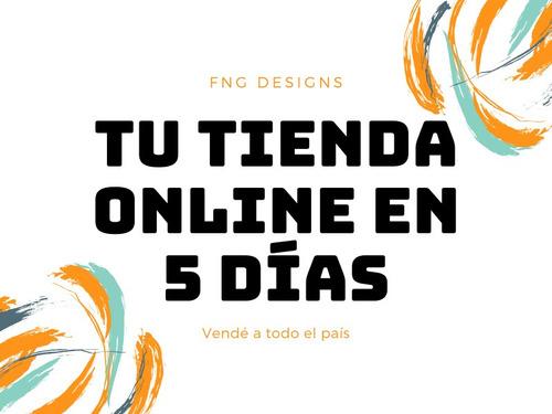 diseño de pagina web tienda nube