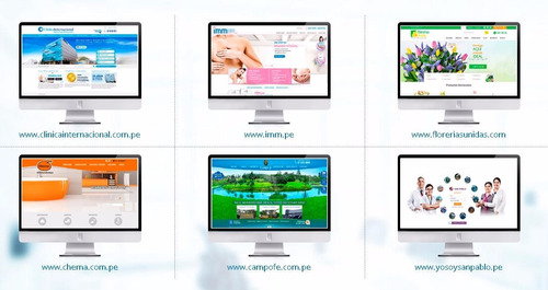 diseño de páginas web completas!! a 285 soles todo incluido