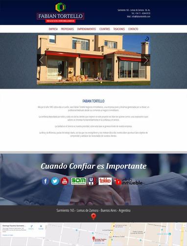diseño de paginas  web  - hosting - diseño web - zona sur