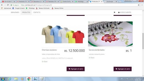 diseño de paginas web, hosting, dominios, certificados csl