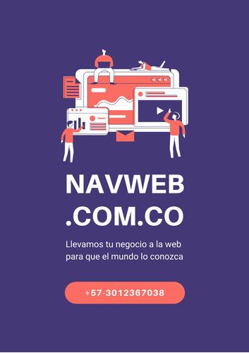 diseño de paginas web, hosting y dominios