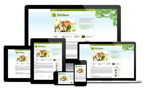 diseño de páginas web - pagina web dinámica y vendedora
