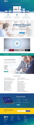 diseño de paginas web profesionales sin pagos mensuales
