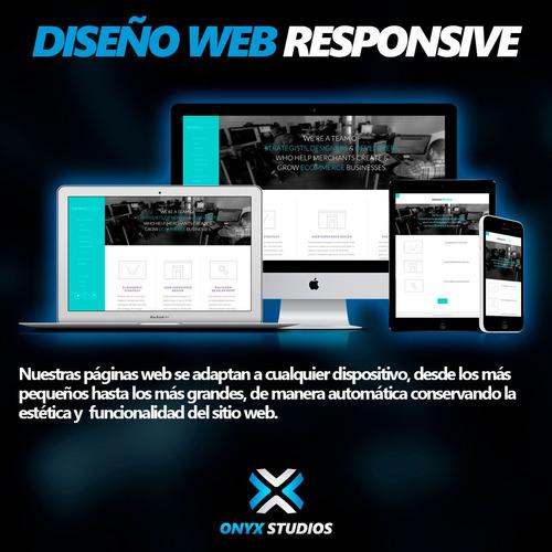 diseño de paginas web responsive wordpress autoadministrable