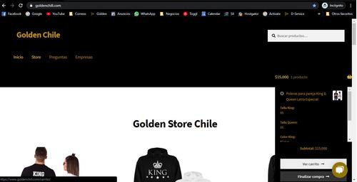 diseño de páginas web según la necesidad
