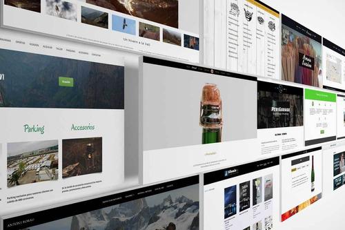 diseño de paginas web sitios corporativos en domicilio cali