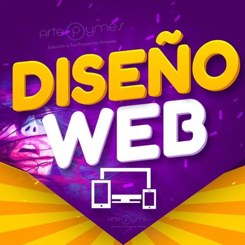 diseño de páginas web tiendas virtuales hosting dominio logo