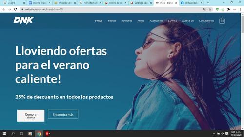 diseño de páginas web y tiendas virtuales