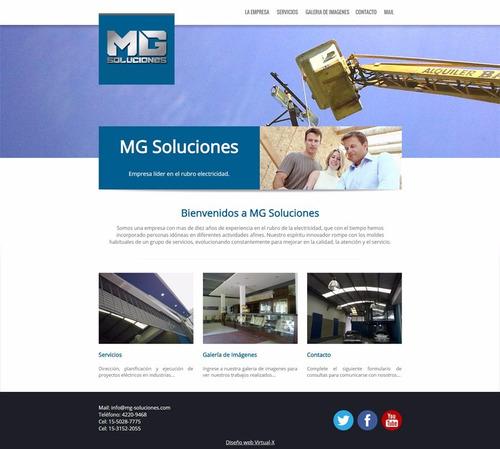 diseño de paginas webs autoadministrables zona sur, lanus