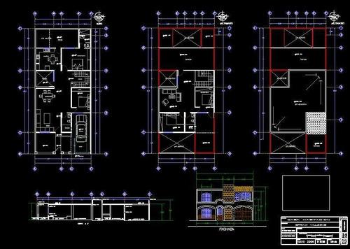 diseño de planos con autocad
