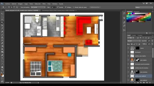 diseño de planos, prototipos, digitalización, renderización
