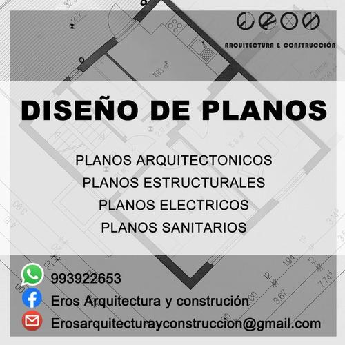 diseño de planos / remodelaciones / licencias
