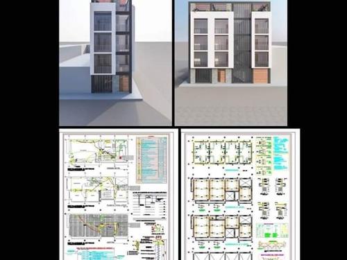 diseño de planos y elaboración de expedientes técnicos