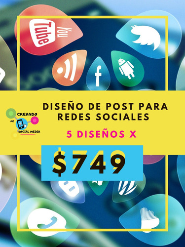 diseño de post para redes sociales