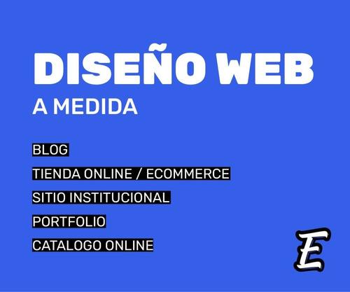 diseño de sitio web a medida - autoadministrable - wordpress