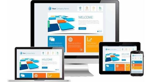 diseño de sitio web con dominio, hosting y correos