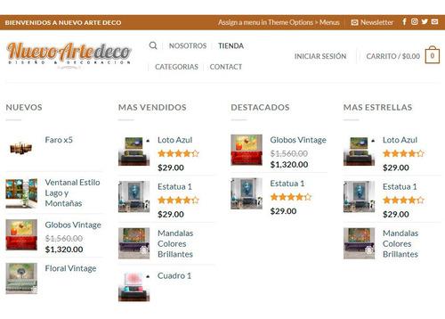 diseño de tienda online wordpress ecommerce
