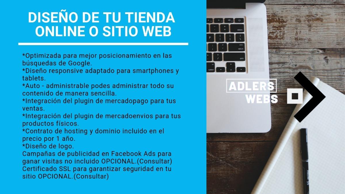 690f6125a3 diseño de tu tienda online o sitio web. Cargando zoom.
