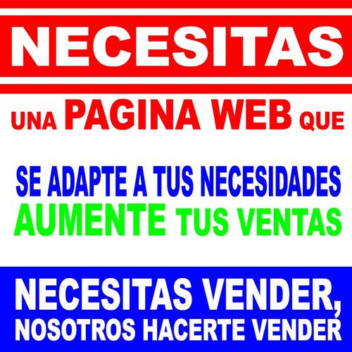 diseño desrrollo paginas web, tienda online, blog