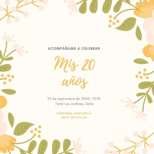 diseño digital de invitaciónes!!