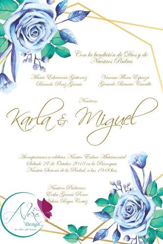 diseño digital de invitaciones