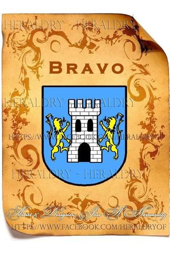diseño digital del escudo de familia e hist de su apellido