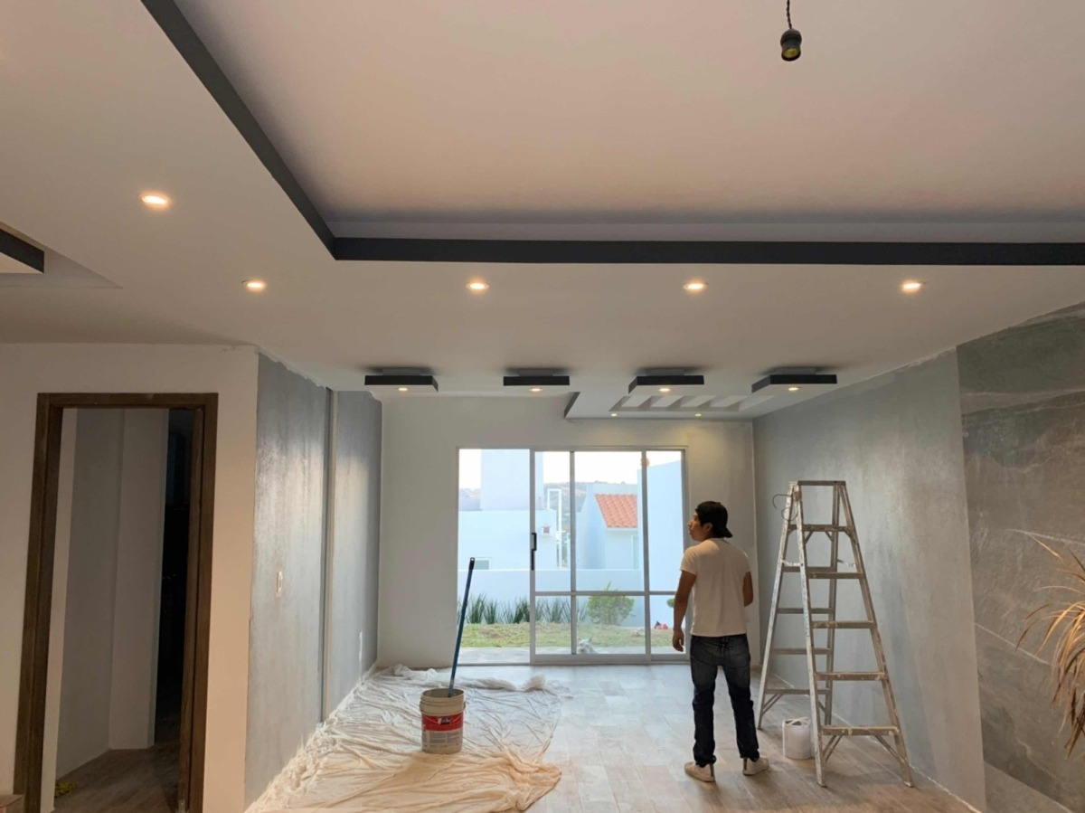 Dise o e instalacion de muros y plafones de tablaroca - Detalles de decoracion para casa ...