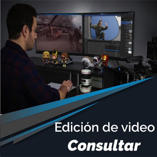 diseño edicion de video redes sociales y webs, consulte!!