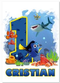 Diseño Editable Ps Listo Para Imprimir Personaje Nemo
