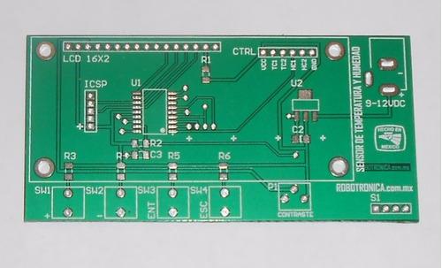 diseño electronico fabricacion pcb ctos impresos robotronica