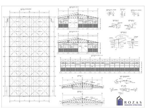 diseño estructural, memoria y planos de cálculo