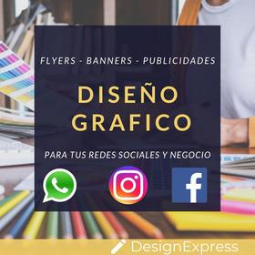 Diseño Flyers   Banners   Contenido Para Redes Sociales 2x1
