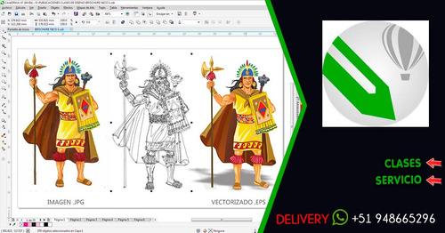 diseño grafico, clases, corel draw, photoshop, ilustrator