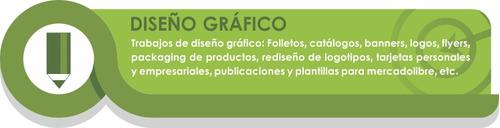diseño gráfico, diseño web, fotografía, catálogos, logos etc
