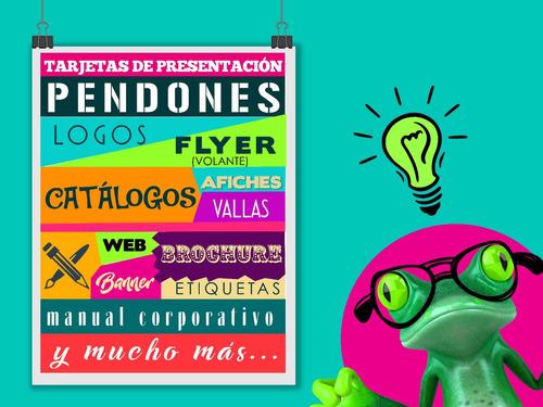 diseño grafico elaboracion de logos, afiches, tarjetas