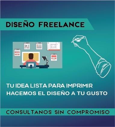 diseño gráfico freelance