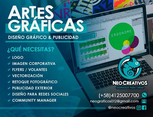 diseño gráfico - logos - imagen corporativa - redes sociales
