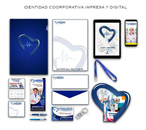 diseño gráfico, logos, vectorizacion. identidad corporativa