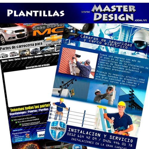 diseño grafico logotipo pagina web redes sociales publicidad