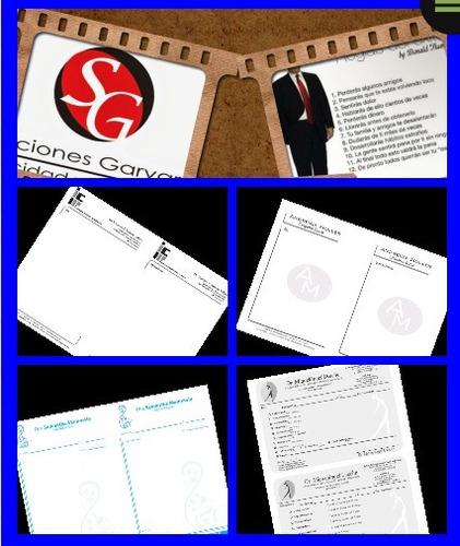 diseño grafico logotipo tarjetas pendones pendones avisos