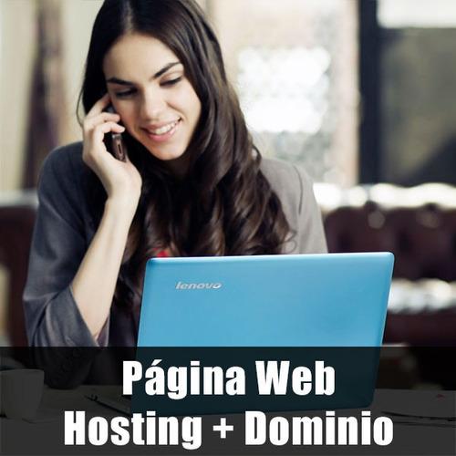 diseño gráfico, páginas web, hosting, dominios, correos