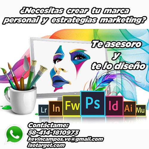 diseño gráfico, web, video social media y marketing