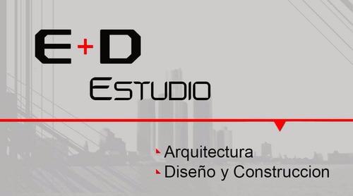 diseño, habilitacion y construccion.