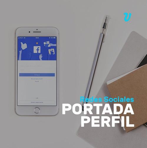 diseño imagen foto perfil portada facebook diseño grafico