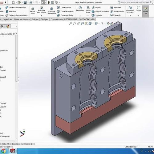 diseño industrial y de moldes