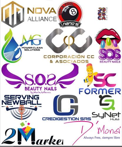 diseño logo logotipos 4 propuestas modificaciones ilimitadas