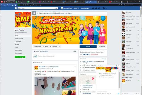 diseño logo, página internet, web cartel facebook portada