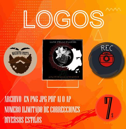 diseño logos tarjetas vectorizaciones y mas